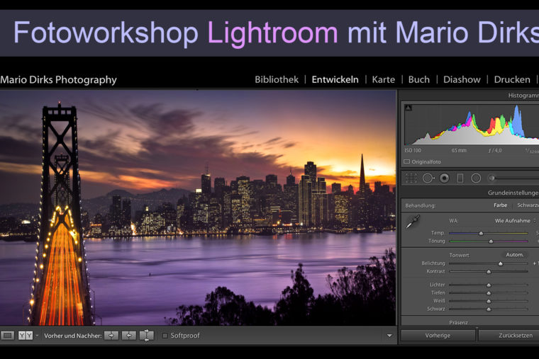 Grundlagen Adobe Lightroom für Einsteiger